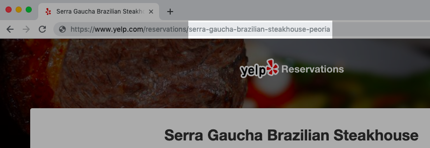 How to add Yelp Reservations reservations to your site